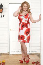 Распродажа Платье Варна из хлопка для беременных и кормящих - Бамбиномания