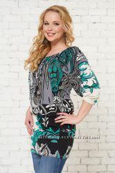 Шикарные платья туники для беременных и кормящих от Бамбиномания 8 цветов