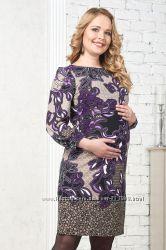 Платье Барлетта для беременных и кормящих Бамбиномания