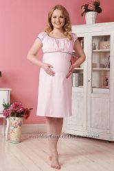 Ночнушка и платье для дома Николози для беременных и кормящих Бамбиномания