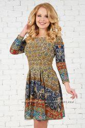 Платье Альба две расцветки для кормящих Бамбиномания