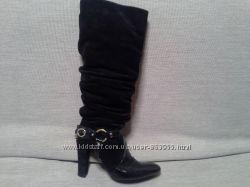 Сапоги Versace оригинал, бу 39 размер