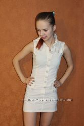 Платье-рубашка распродажа, р. 42, 44