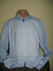 Мужская рубашка, 3ХЛ, 4ХЛ смотрите замеры