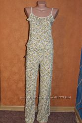 Хлопковые комбинезоны с брюками на худеньких, р. 40-42