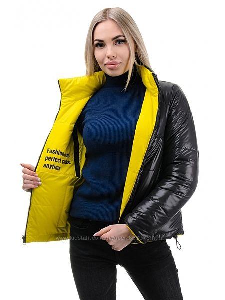 Двухсторонняя молодежная демисезонная куртка G326, р. 42-48