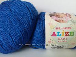 Alize Baby wool все новые цвета в наличии По моточно
