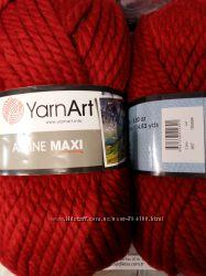 Толстая нитка Yarnart Alpina Maxi