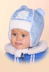 Зимняя шапка на мальчика р. 50, Бабасик