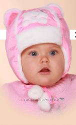 Зимняя шапка на девочку Бабасик,  р. 46, наличие