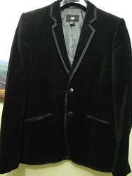 Пиджак H&M велюр бархат для мальчика подростка, р.170 см