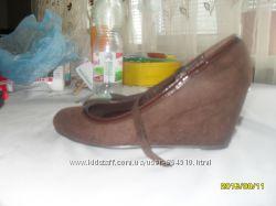 замшевые туфли 37 размера