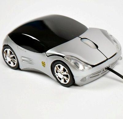 Мышка - машинка Porsche