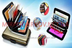 Кошелек-кредитница Aluma wallet