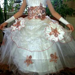 Шикарное платье выпускное, праздничное, нарядное.
