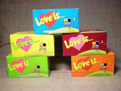 Жвачки Love is. 100шт