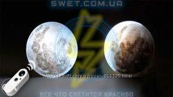 Светильник ночник Луна 12 фаз с пультом управления