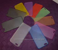 Iphone 6 ультратонкий цветной пластиковый чехол 0, 3 мм