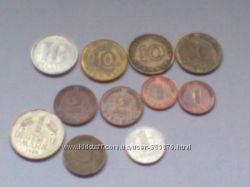 Монеты  СССР и других стран