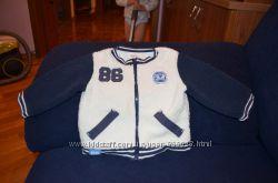 Кофта куртка из шерпы размер 6 месяцев