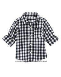 Нова котонова гарної якості рубашка фірми Crazy8 із США оригінал роз. 5-6