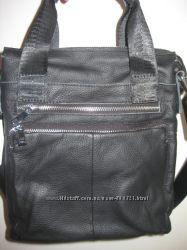 Кожаная сумка-портфель арт. 009