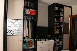 Шкаф-купе и кровать Loft