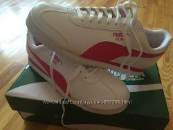 белые стильные кроссовки puma оригинал