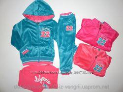 Вельветовый костюм тройка для девочек 1-5 лет. 043. 041
