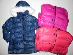 курточка зимняя для девочек 92-128 см. 2747