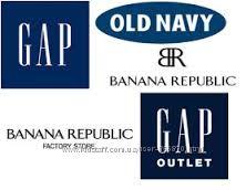 Под заказ Gap, Old Navy под -15 от цены сайта для детей м для взрослых