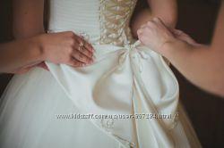 ВесільнЯ сукня з камнями Svarovski