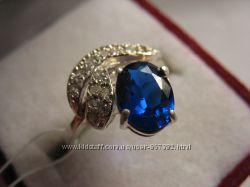 Кольцо серебро 925 проба р. 16, 5