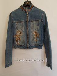 Мега модная джинсовая курточка  GLORIA Jeans размер 46