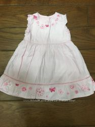 Летнее нарядное платье George 6-9 мес
