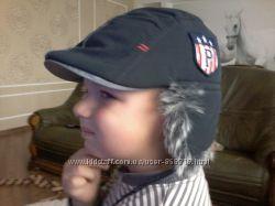 крутая шапка-кепка trestelle 52р на мальчика 2-3 лет