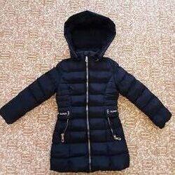 Куртка-пальто зимова 6років 116-122см в гарному стані