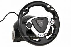 Игровой руль Genius speed wheel с виброотдачей