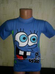футболка для мальчиков Спанч Боб, губка боб  Распродажа