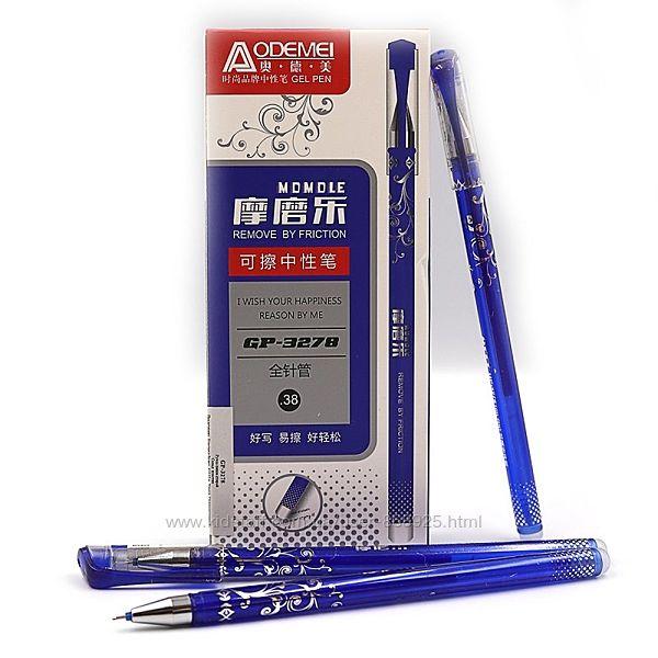 Ручка гелева Пиши-стирай JO GP-3278 синя, 0,38мм
