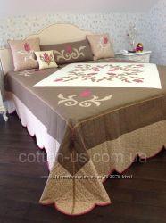 Текстиль пэчворк пледы покрывала подушки