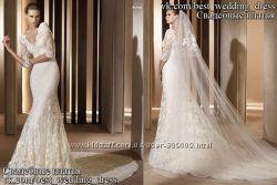 Новое шикарное кружевное свадебное платье Auriga салон Bride недорого