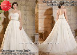 Новое бальное свадебное платье Julietta 2016 салон Bride недорого