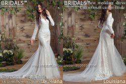 Новое нежное свадебное платье 2017 Луизиана салон Bride недорого