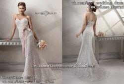 Новое кружевное свадебное платье Рыбка Jenifer салон Bride недорого