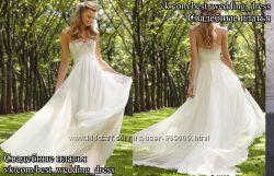 Новое легкое свадебное платье 6745 ML салон Bride недорого