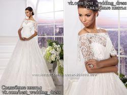 Новое  кружевное свадебное платье Be mine салон Bride недорого