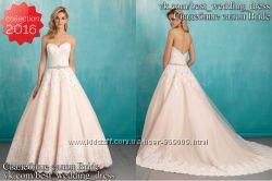 Новое Кружевное свадебное платье А-силует Alina 2016 салон Bride