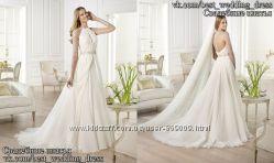 Новое легкое свадебное платье Yajaida салон Bride недорого