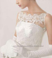 Купить новое изысканное болеро для свадебного платья салон Bride недорого